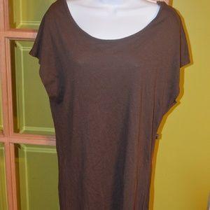 brown mini dress, Ambiance, medium